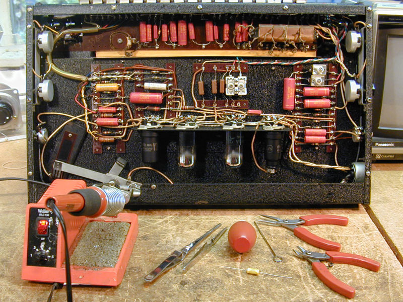 replacing capacitors in old radios and tvs i strongly recommend that you replace only one capacitor at a time and doublecheck the wiring of each replacement against the schematic