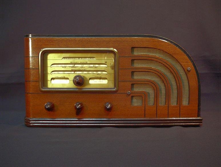 General Electric Model F 63 Radio 1937