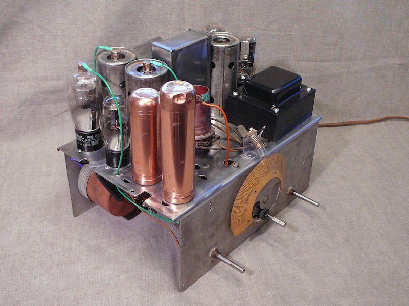 Ge S 22x Tombstone Radio With Clock 1934