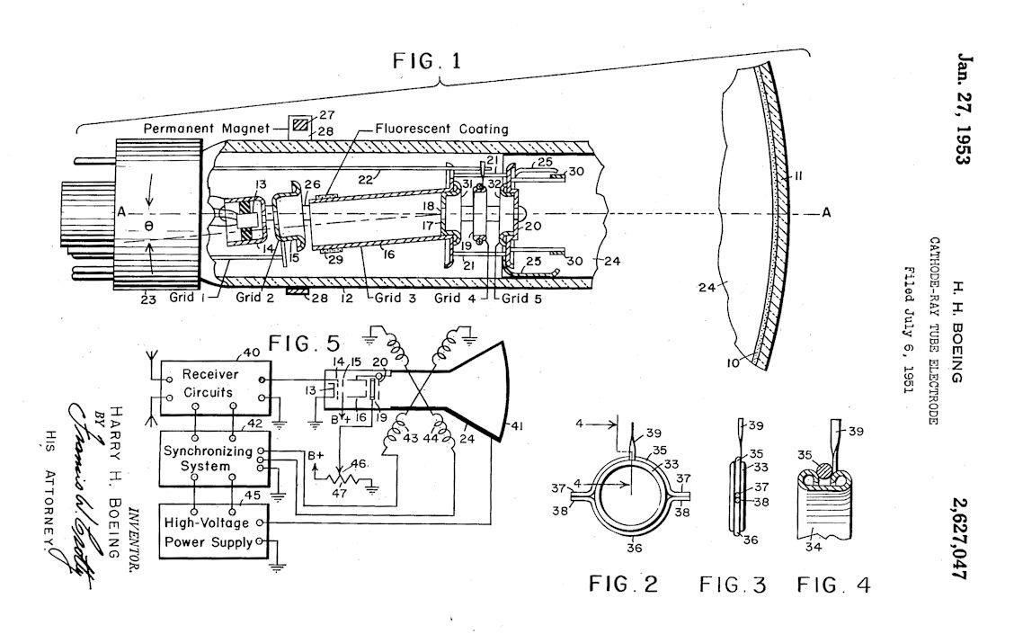 Hoffman Model 7m112 Tabletop Television 1952 Uglies Wiring Diagram