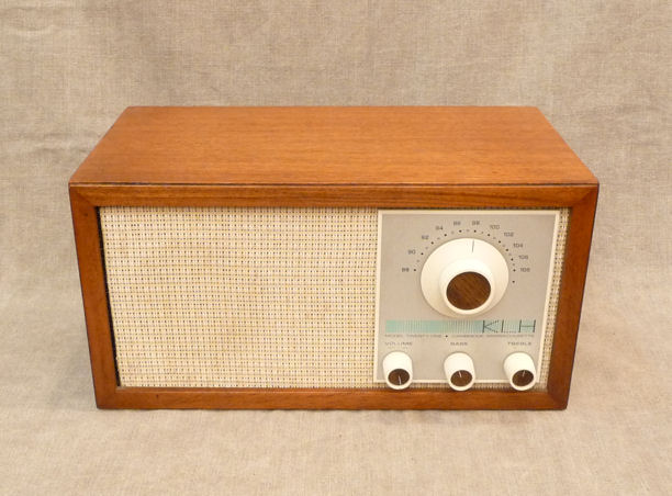 KLH MODEL 21 FM TABLE RADIO JUST PLETELY SERVICED WORKS