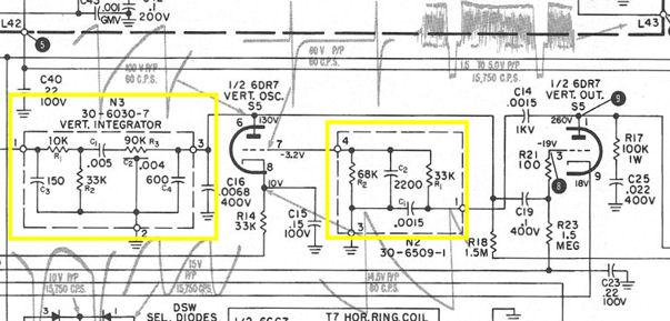 Tv Circuit Board Diagram