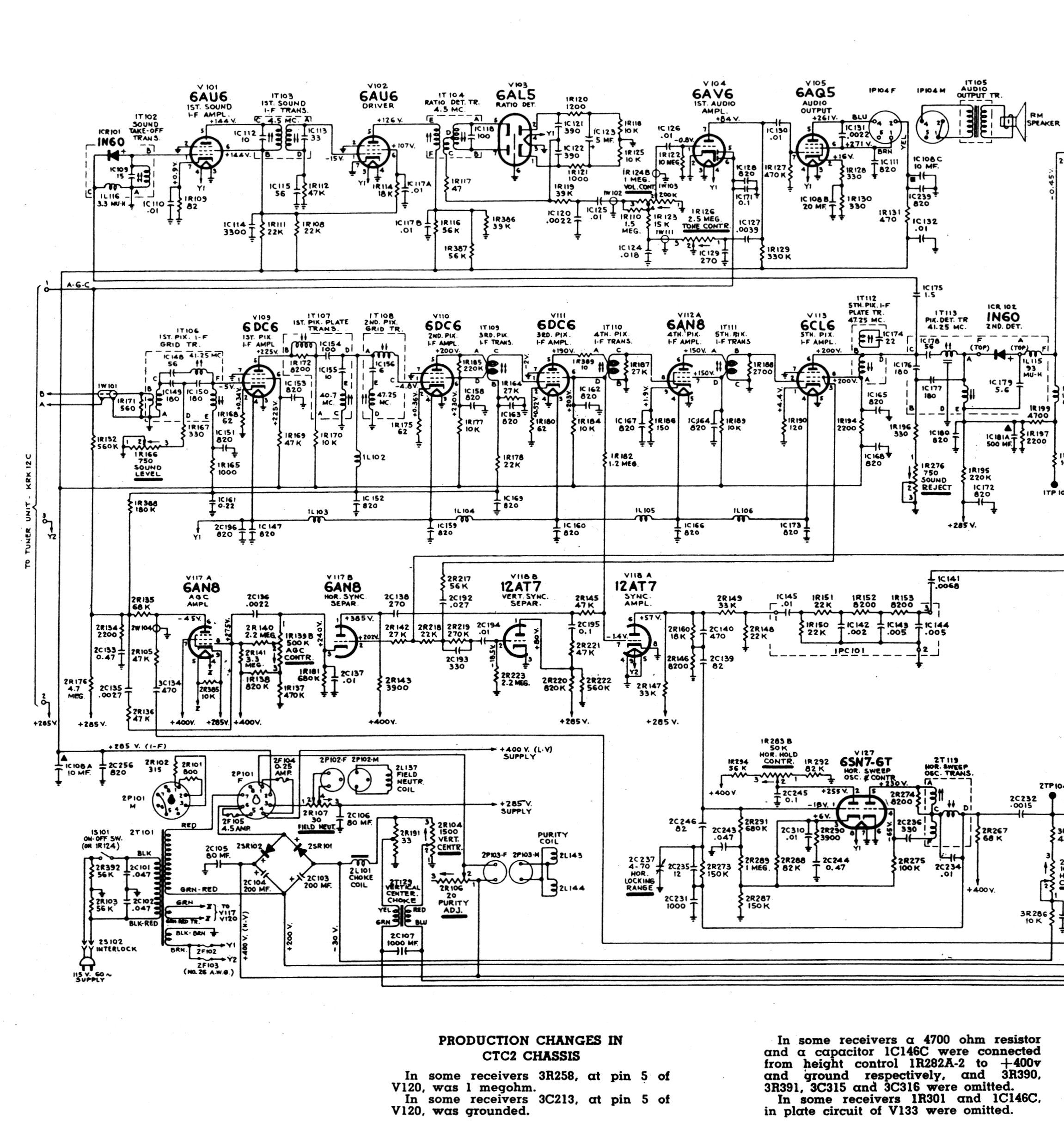 Rca Wiring Diagram Another Blog About Rj45 Jack Television Service Manual Trusted Diagrams Connector