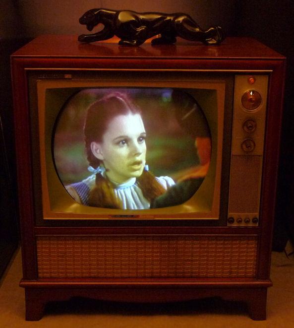 Rca Model Ctc 11 Color Television 1962
