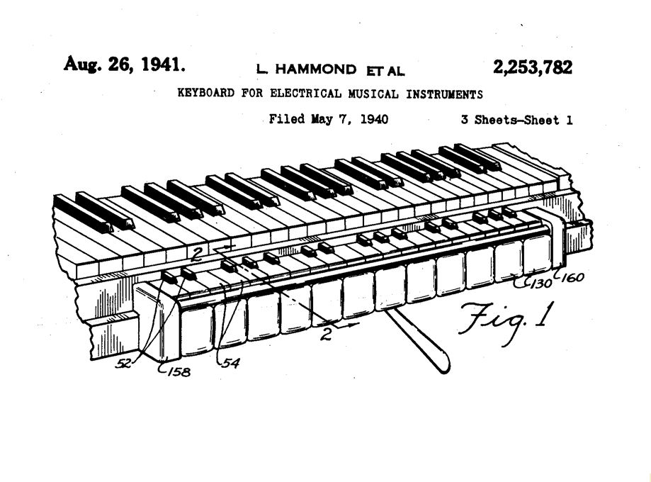 Piano Keyboard Diagram Another View