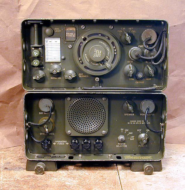 U S Army Model An Grr 5 Shortwave Receiver 1959