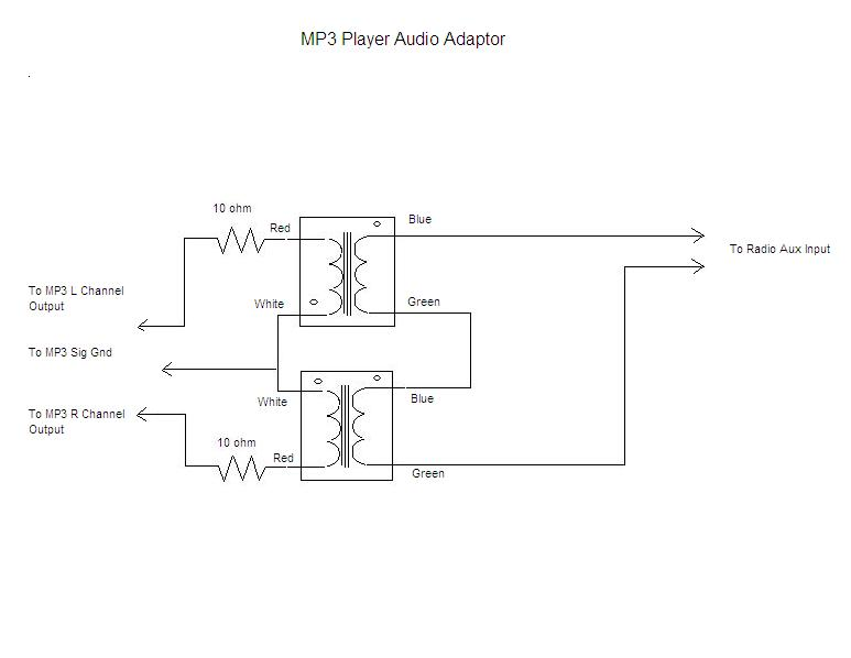 iPodAdaptorSchematic antique radio forums \u2022 view topic stereo to mono adapter radio transformer diagram at aneh.co