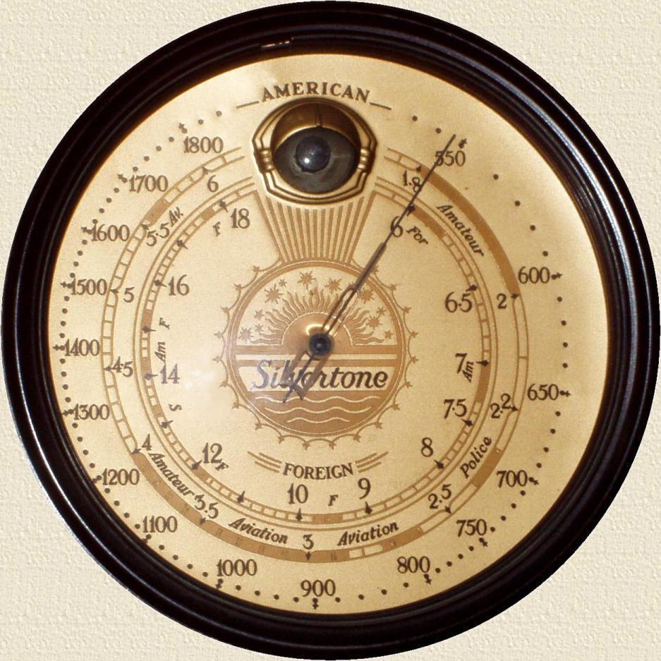 Silvertone Model 4485 Console Radio 1937