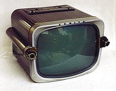 Zenith Model T1816r Television 1955